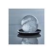 Stampo ghiaccio sfera in silicone nero cm 6