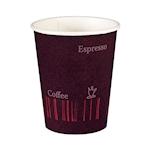 Bicchiere caffè Coffee Quick Duni in cartone viola cl 24