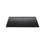 Tappetino versa mat in gomma nera cm 44x29