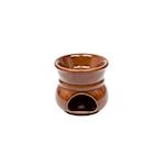 Fornellino per bagna cauda cognac cm 11