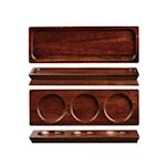 Vassoio rettangolare Linea Wood Charm Churchill in legno acacia cm 27 x 9