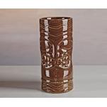 Tiki mug totem ceramica marrone 50 cl
