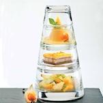 Bicchieri Piramide Vertigo Durobor In Vetro 4 Pezzi