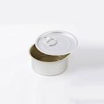 Scatoletta rotonda 100% Chef in alluminio con coperchio