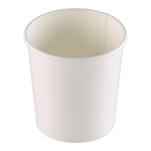 Coppette asporto monouso Soup Duni in cartone bianco cl 48,5