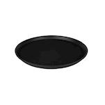 Vassoio antiscivolo MC 40cm rotondo nero