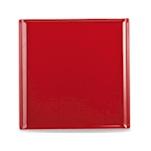 Vassoio Linea Buffet Churchill rettangolare in melamina rosso cm 30,3 x 30,3