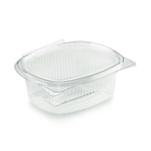 Contenitore ovale monouso per alimenti in PET trasparente lt 0,75