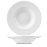 Pasta bowl Profile Churchill in ceramica vetrificata bianco cm 27,7