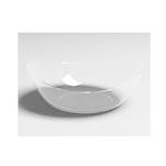 Coppette Sphera 100% Chef in plastica trasparente cm 9x8