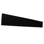 Tappetino,Bar mat gomma 70x11 cm nero
