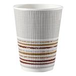 Bicchiere cappuccio monouso Triple wall Duni con decoro 24 cl