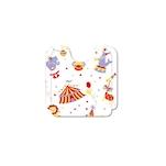 Bavagli bambini Circus in airlaid cm 26x28