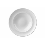 Pasta Bowl Bamboo Churchill in ceramica vetrificata bianca cm 30,8