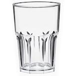 Bicchiere Granity in policarbonato trasparente lt 1