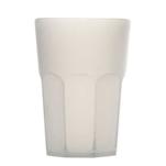 Bicchiere Granity in policarbonato bianco lt 1
