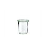 Vasetto Weck con coperchio in vetro cl 22
