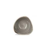 Coppetta triangolare Stonecast Churchill in ceramica vetrificata grigia cm 15,3