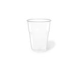 Bicchieri in pet trasparente cl 35