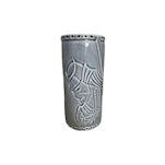 Tiki mug Samurai in porcellana azzurra cl 56