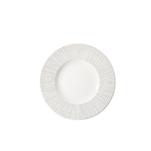Piatto piano Frutta Churchill in ceramica vetrificata bianca cm 23,6