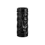 Tiki mug Tahiti in vetro nero cl 45