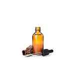 Bottiglietta contagocce in vetro marrone ml 50
