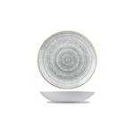 Coupe Studio Prints Homespun in ceramica vetrificata grigia cm 24,8