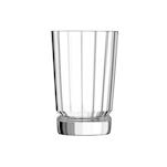 Bicchiere Macassar in vetro decorato cl 36