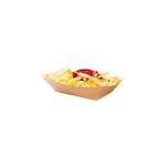 Barchette monouso in carta marrone cm 12,7x8,5x3,5