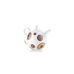 Teiera Tea for One Kerala N.1 in porcellana decorata