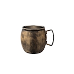 Boccale mug Copper Vintage in acciaio inox anticato cl 62