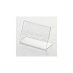 Espositore porta cartellini in plexiglass cm 10x5