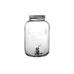 Dispenser Punch Barrel Yorkshire con rubinetto in vetro lt 5