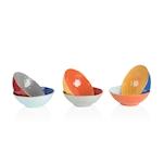 Insalatiera Mediterraneo in ceramica colorata cm 23