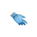 Guanti Reflexx senza polvere in nitrile azzurro taglia XL
