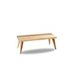 Alzata Buffetscape Churchill in legno di acacia marrone cm 42,7x18,4x15,5