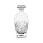 Bottiglia Diamante Vidivi in vetro lavorato cl 70
