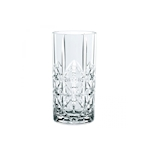 Bicchiere Cross Highland long drink in vetro trasparente cl 44,5