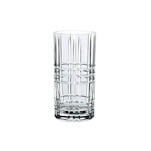 Bicchiere Square Highland long drink in vetro trasparente cl 44,5