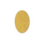 Sottofritto ovale in cartapaglia alimentare naturale cm 17x25