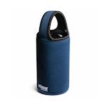 Fascia protettiva per mixing glass in neoprene flessibile blu e nero cm 28x9