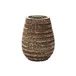 Porta candela led Feel Duni in cartone riciclato cm 12x10