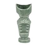 Tiki mug Bocca Larga in ceramica verde cl 65