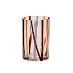 Bicchiere Chio in vetro soffiato Terra cl 39