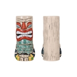 Tiki mug Rainbow in porcellana variopinta cl 38