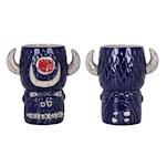 Tiki mug Buffalo in porcellana blu cl 80