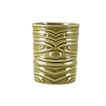 Tiki mug Smile in porcellana verde cl 36