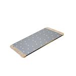 Tagliere Giusto per pinsa e pizza in acciaio inox e legno cm 36x19,5