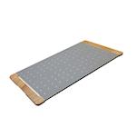 Tagliere Giusto per pinsa e pizza in acciaio inox e legno cm 75x40